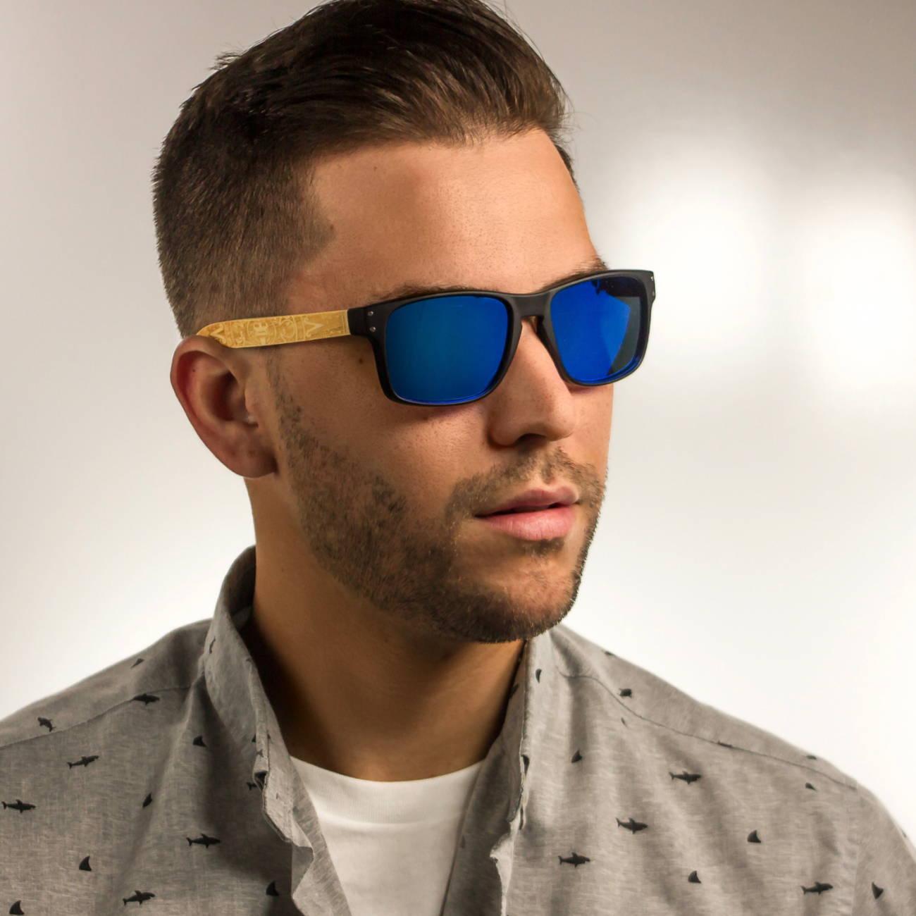 Volcanic Blue Polarized Sunglasses