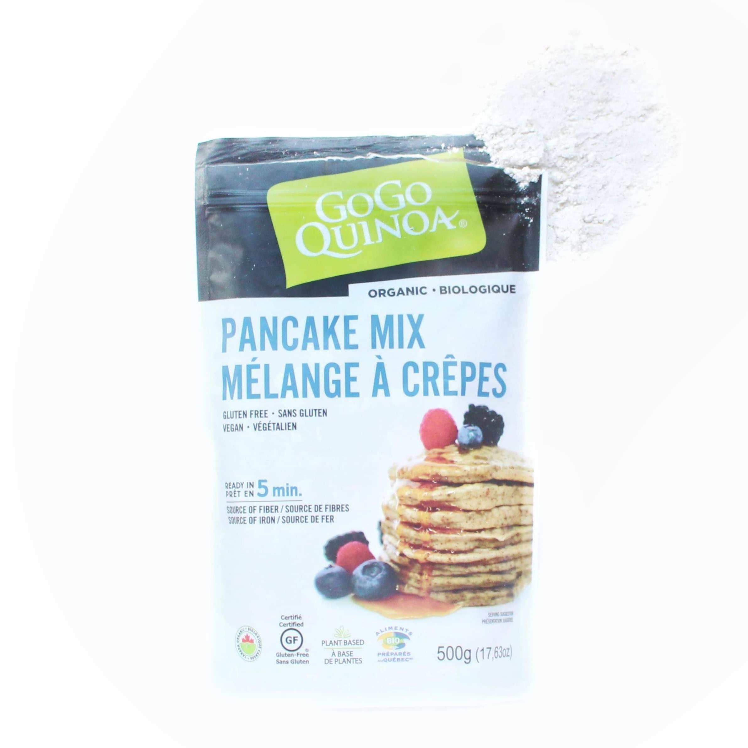 Mélange à crêpes gogo quinoa 5 minutes