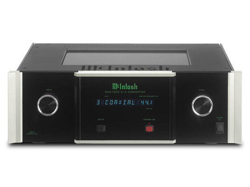 McIntosh MCD1000 and MDA1000 Transport/DAC pair