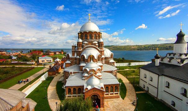 Форпост Ивана Грозного - остров-град Свияжск