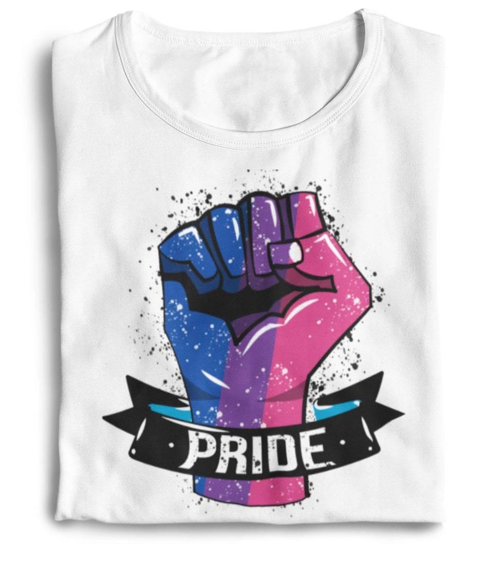 bisexual flag shirt the rainbow's brand
