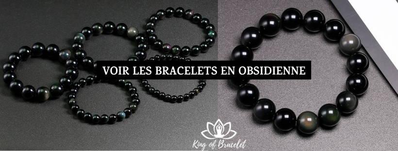Bracelet Obsidienne - King of Bracelet