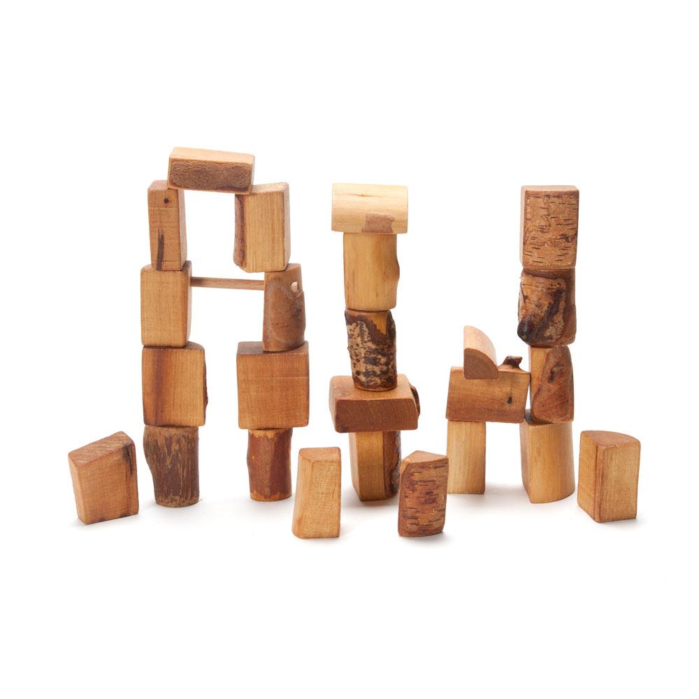rugged natural blocks