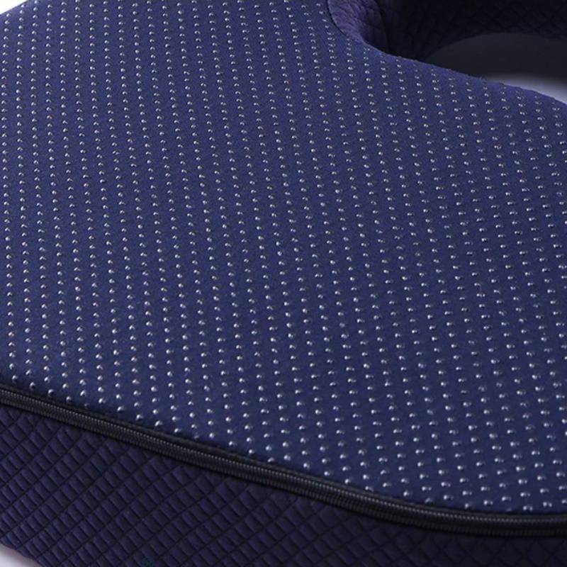 Revêtement antidérapant du coussin d'assise orthopédique