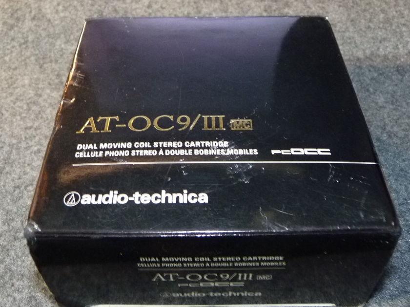 Audio Technica OC-9 MKIII  PCOOC cartridge MC low hours perfect