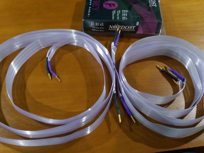 Nordost Frey spk 3m with banana plugs