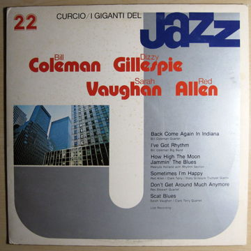 I Giganti Del Jazz Vol. 22