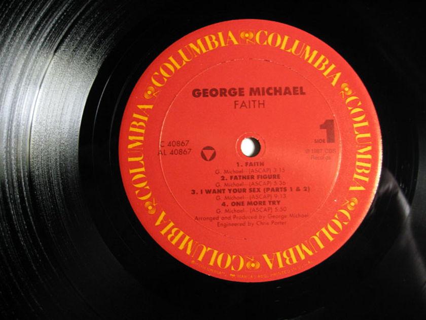 George Michael - Faith - 1987 Carrollton, GA Pressing Columbia OC 40867