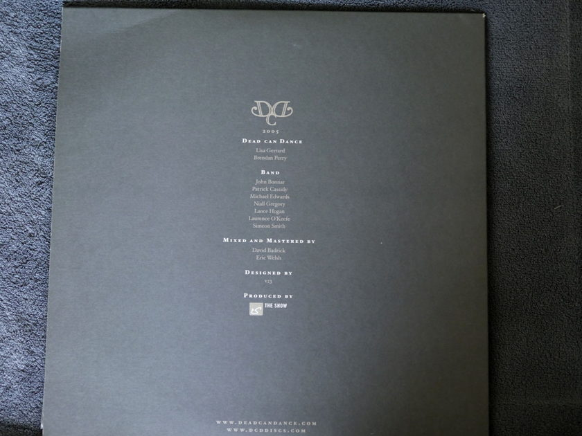 Dead Can Dance - Chicago: 12th October 2005 3 LPs very rare