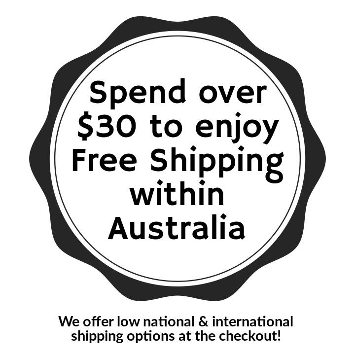 Spend over $30 to enjoy free shipping