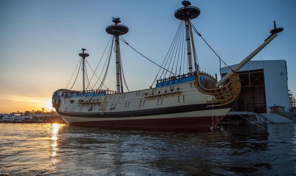 Экскурсия на уникальный исторический парусник «Полтава»
