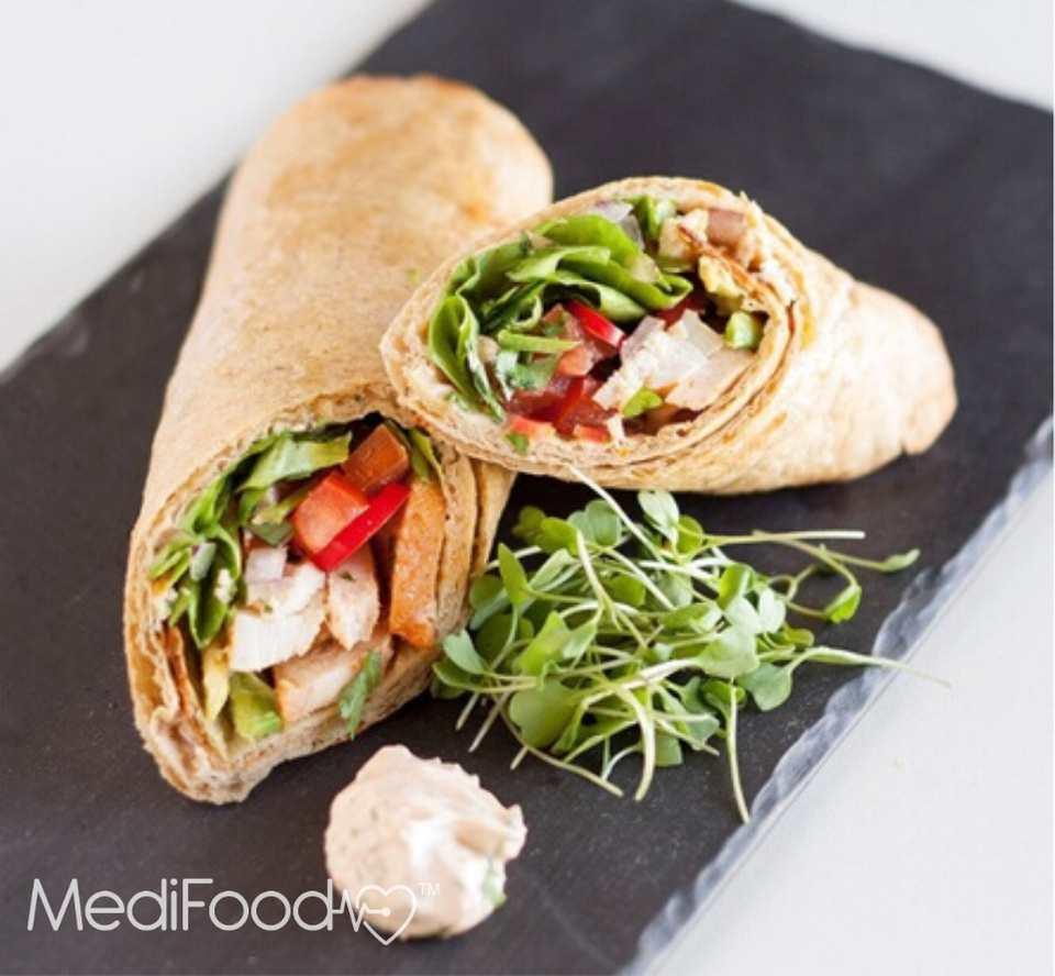 Medifood Vegetable Wrap