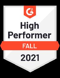 G2 high performer fall