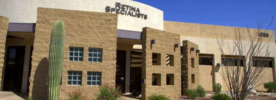 Outside Entrance of Retina Specialists of Southern Arizona Building