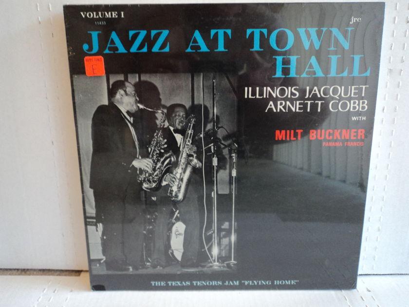 Illinois Jacquet Arnett Cobb with Milt Buckner - Jazz At Town Hall Volume 1 Rare Sealed