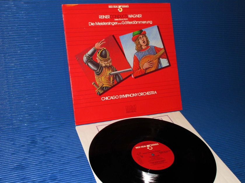 """WAGNER / Reiner  - """"Reiner Conducts Wagner"""" - RCA .5 Series Audiophile 1984"""