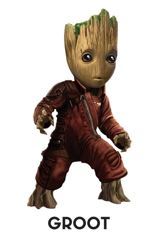 Groot avengers infinity war action figures, Collectibles, Bobbleheads, Pop's, Key Chains, Wallets, Posters and more , free shipping across India