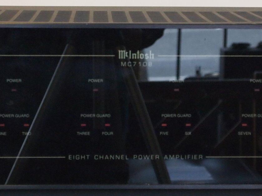 McIntosh  MC-7108 8 X 40 watts
