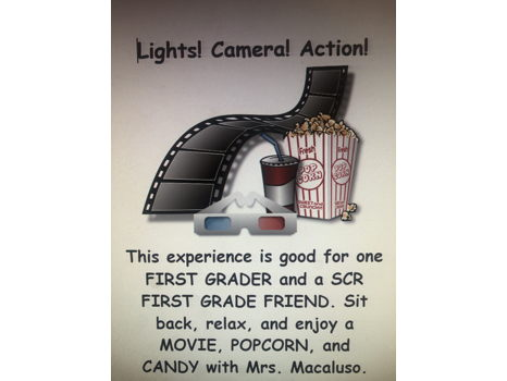 First Grade- Movies with Mrs. Macaluso
