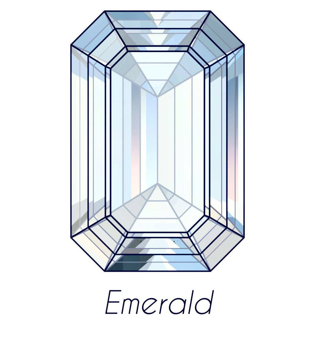 diamond emerald cut picture