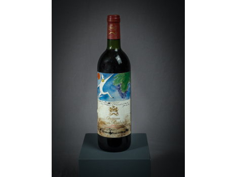 One Bottle of 1982 Mouton Rothschild, Pauillac