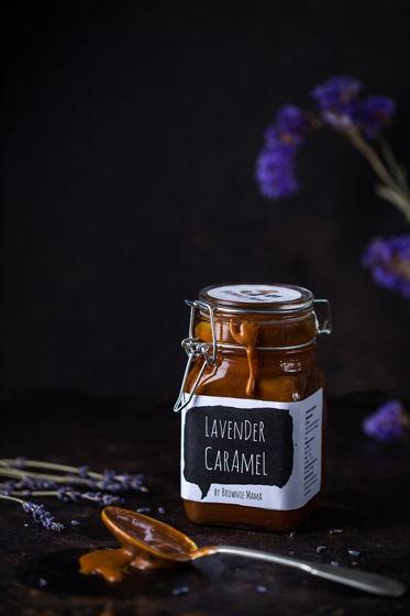 Классическая соленая карамель с лавандой