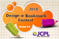 2018 Design a Bookmark Contest