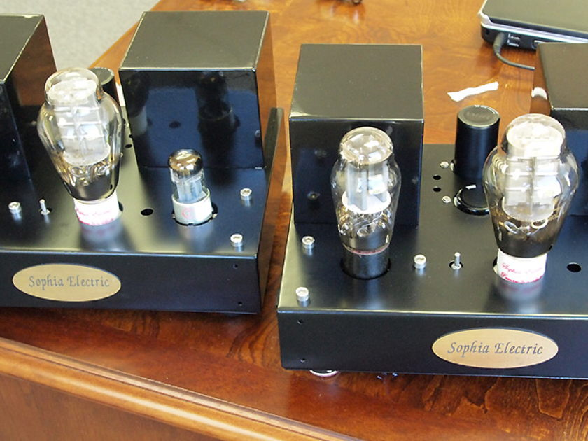 Sophia Electric 91-01 300B Mono-block  tube amplifiers, single ended MAGIC SOUND!!!