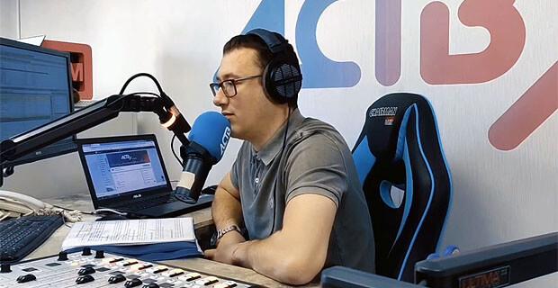 Анализ на коронавирус взяли в прямом эфире радио АСТВ - Новости радио OnAir.ru