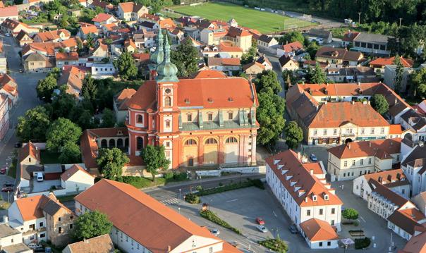 Прогулка на самолете над окрестностями Праги