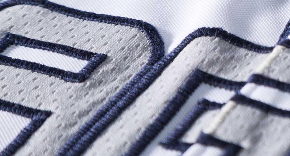 Twill Embroidery Baseball Jersey
