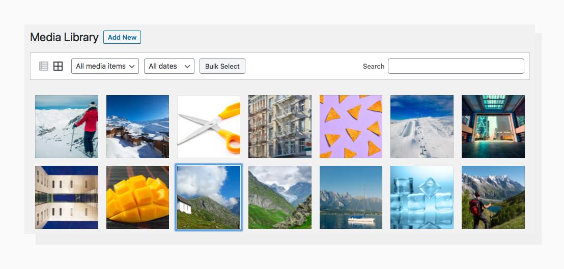 Image Optimization for WordPress Media Library