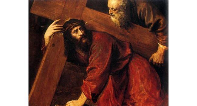 Jesus On His way to Calvary