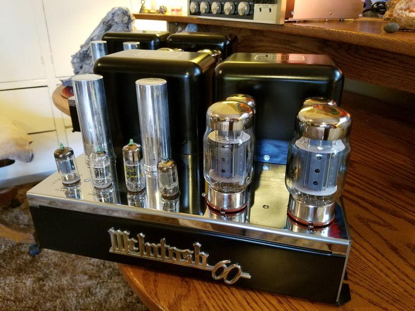 McIntosh MC60 Vacuum Tube Amplifier Monoblock Pair
