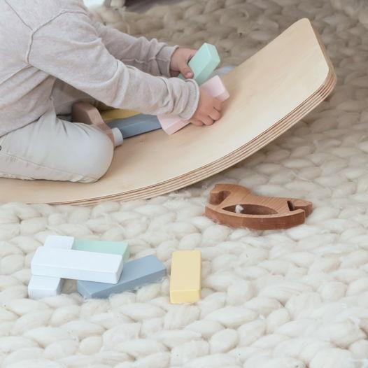 Деревянный конструктор Плашки