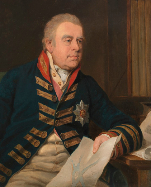 Portrait of Sir Joseph Banks c1814 by Thomas Phillips