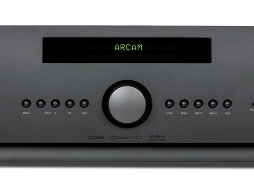 Arcam AVR850 New Receiver just Demonstrated to our customer