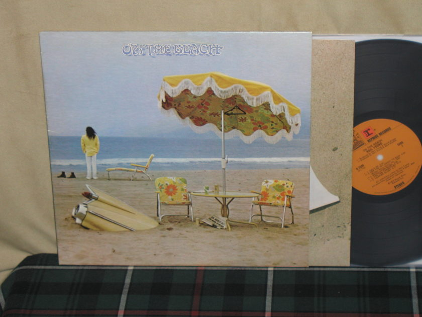 Neil Young - On The Beach Reprise 1st press from 1974.