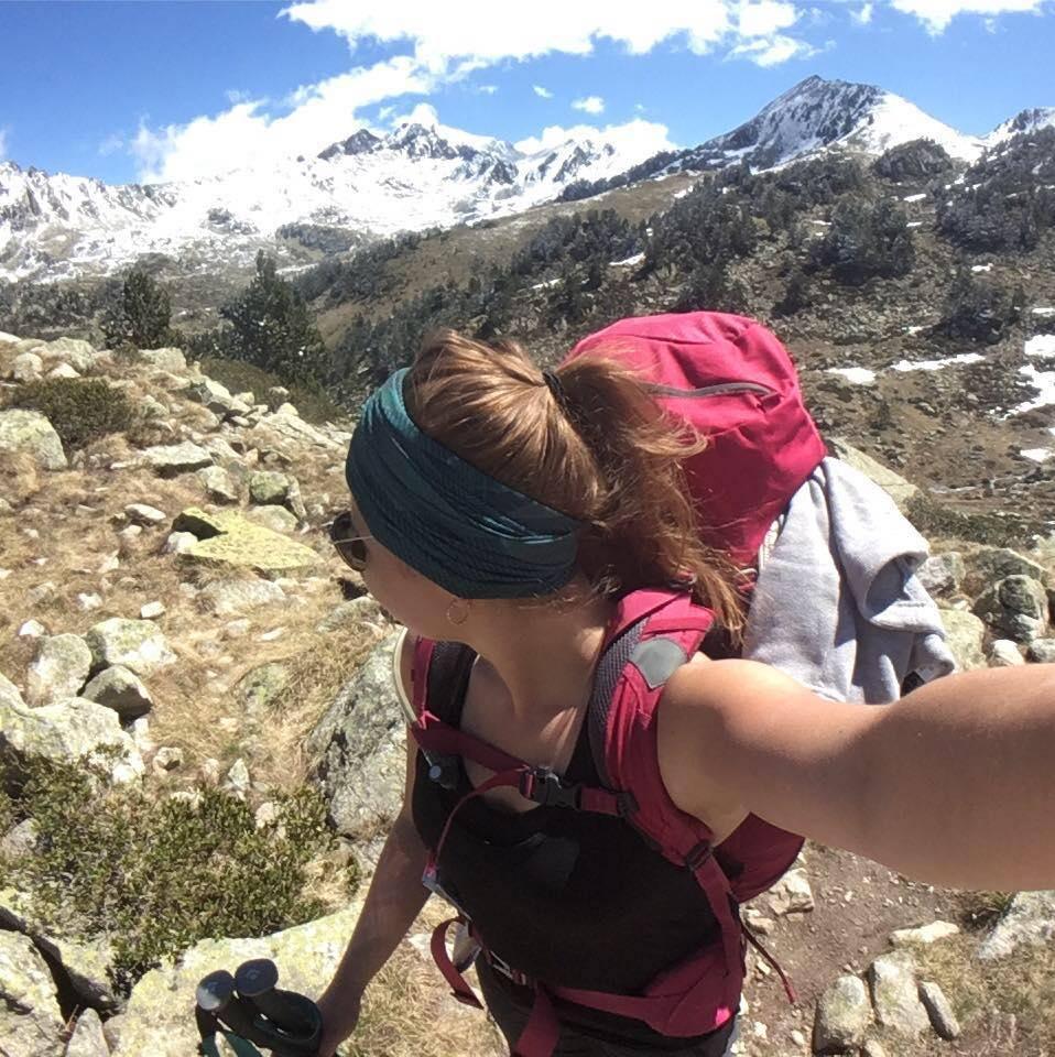 Caroline Guillon, bloggeuse pour la compagnie de plein air, longues randonnées et camping Mount Trail.