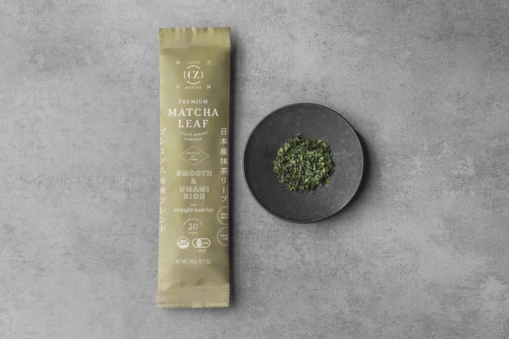 Premium matcha leaf blend