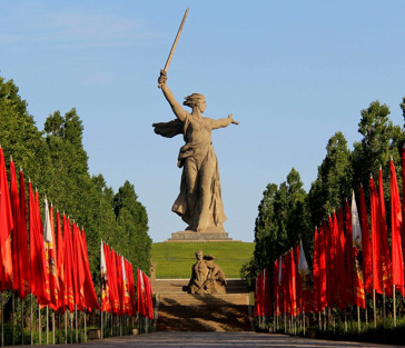 Главная высота России — Мамаев Курган
