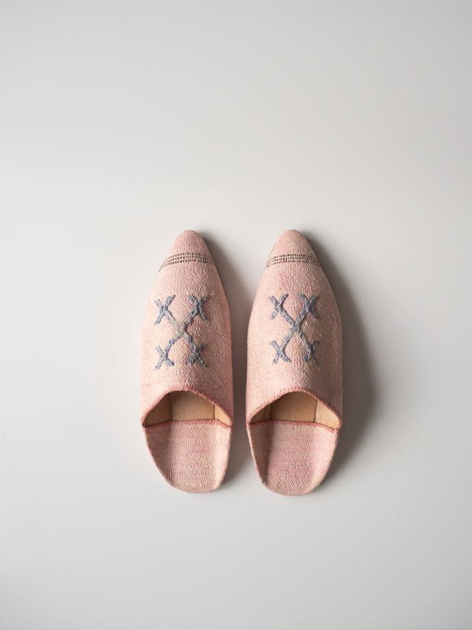 Бабуши из шелка агавы Pink