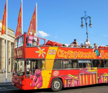 Берлин: билет на автобус Hop-On, Hop-Off