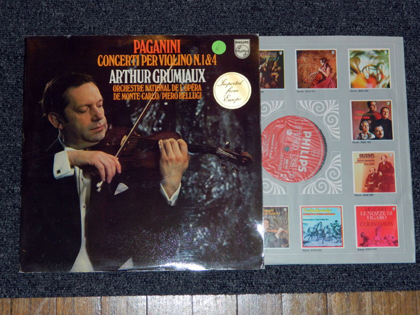 Arthur Grumiaux -Paganini Concerti - Per Violino