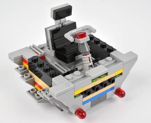 lego 75095 cockpit design