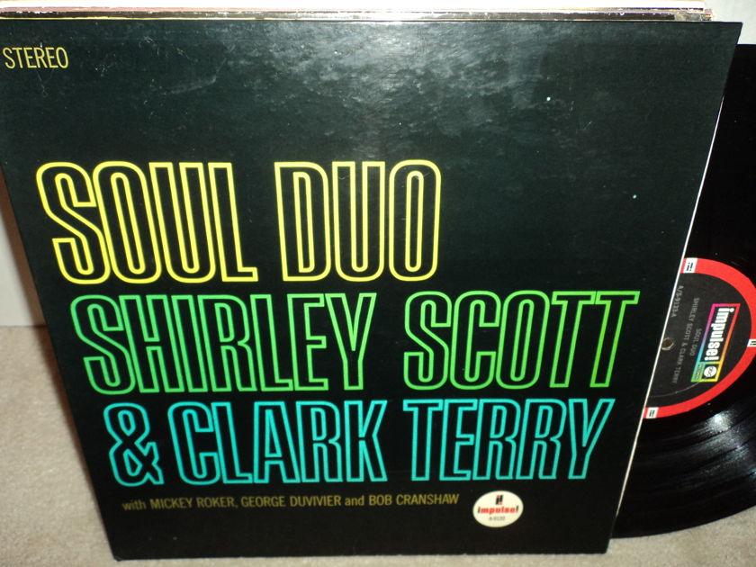 "Shirley Scott & Clark Terry - ""Soul Duo""  Gatefold  1966 Impulse A-9133 NM"