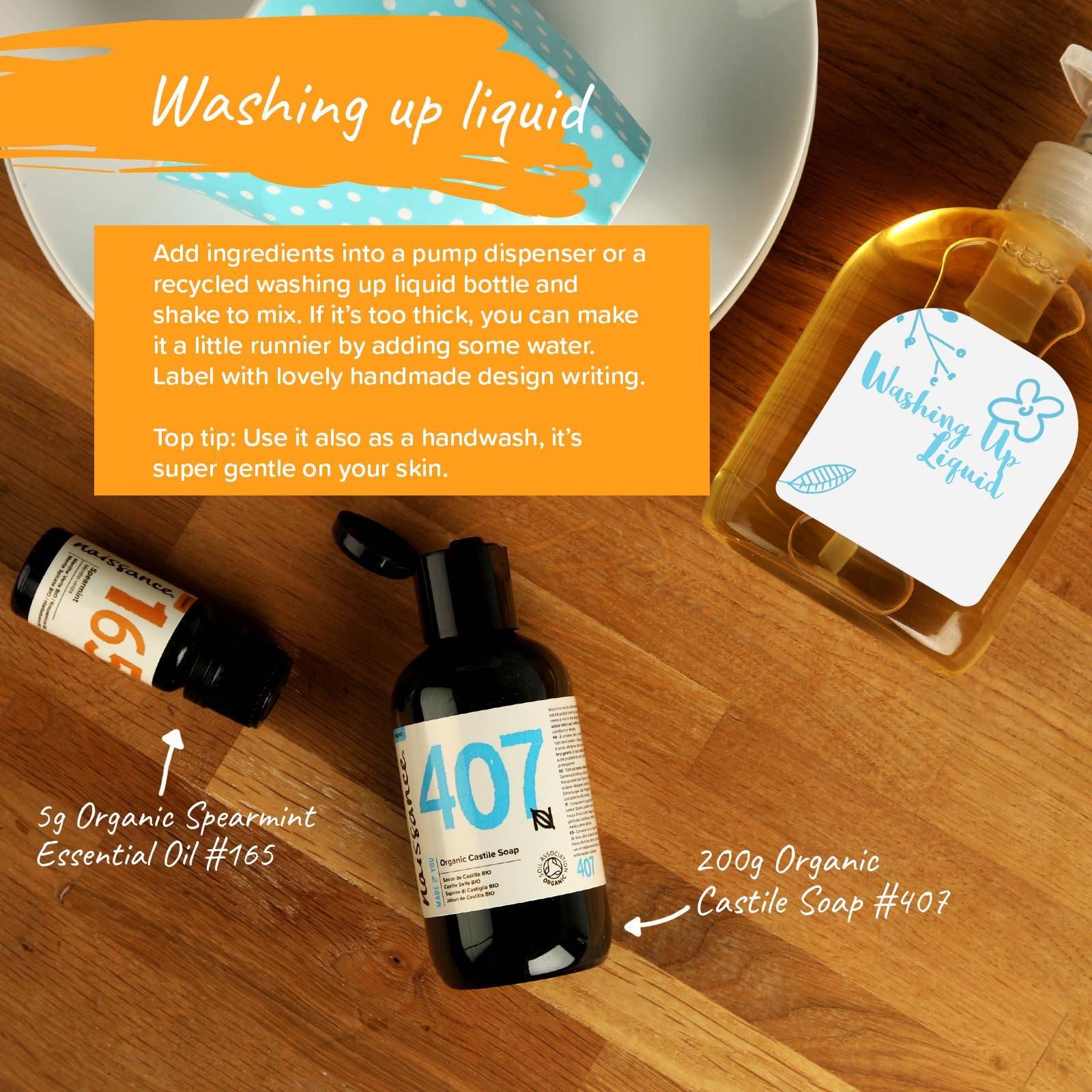 diy natural dish soap
