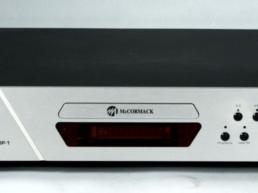 McCormack UDP-1 Multi-Channel Universal Disc Player