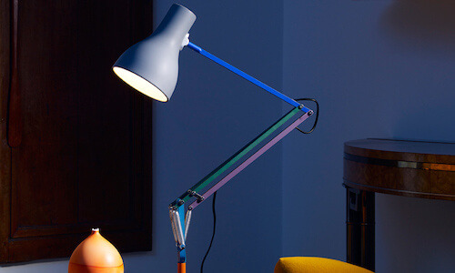 Anglepoise Paul Smith Table Lamp, multi colored