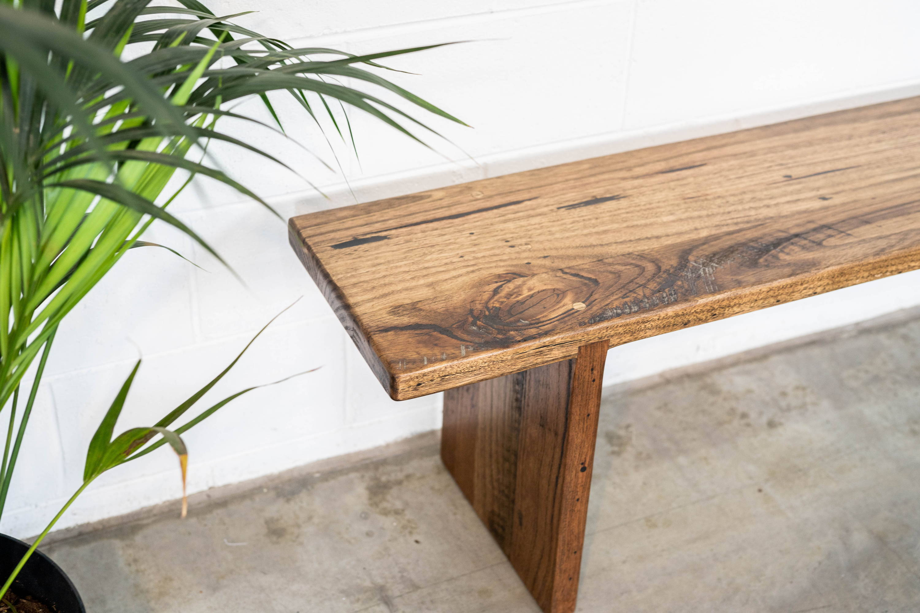 Waterfall Style Bench Seat